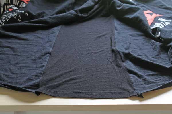 how to make a t-shirt bigger. DIY, tutorial.