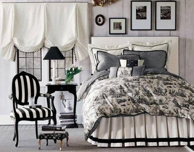 Bedroom Decor Black N White 97 best black and white home decor images on pinterest | black
