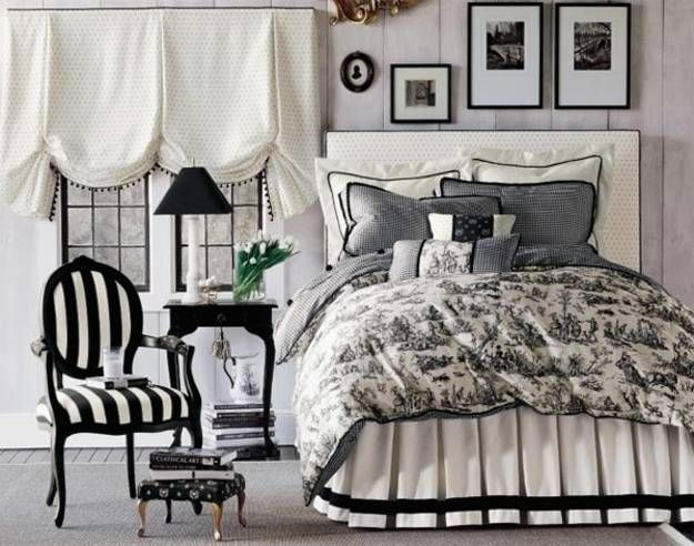 Black And White Decorating Ideas Black White Bedding Decor
