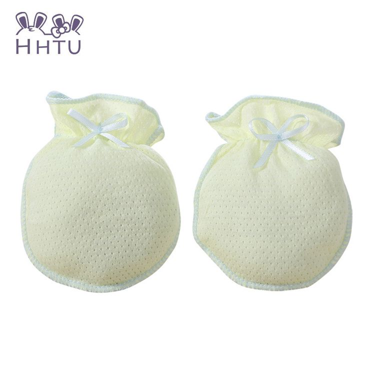 HHTU Cotton Baby Girls Gloves & Mittens Solid Anti scratch gloves Gloves & Mittens