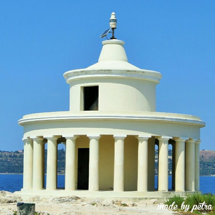 Àgios Theodori lighthouse in lassi. Kefalonia