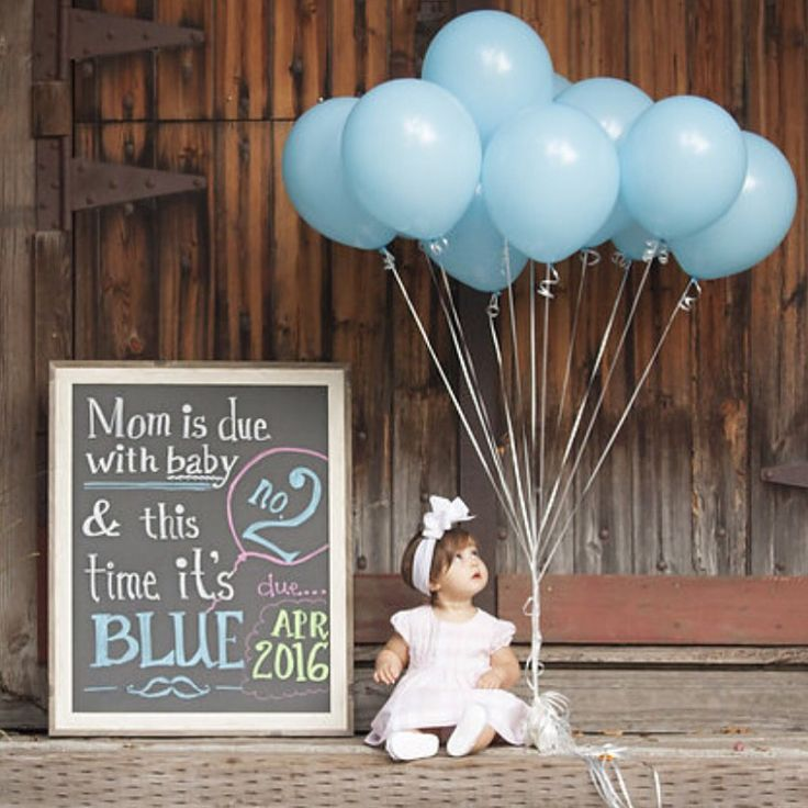 Sibling Gender Reveal & Announcement