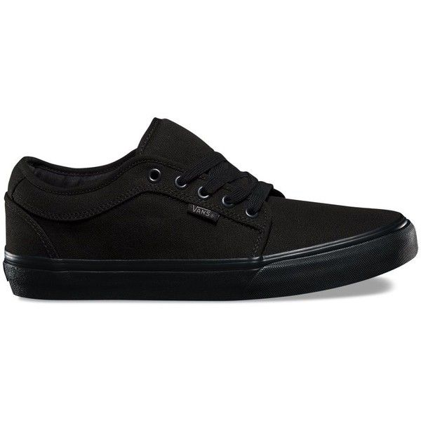 Vans Chukka Low ($60) ❤ liked on Polyvore featuring men's fashion, men's shoes, men's sneakers, shoes, black, mens chukka shoes, mens chukka sneakers, men's low top sneakers, mens rubber shoes and mens black sneakers