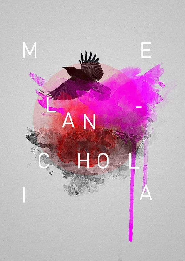 Melancholia by Carmelaine Antonio  http://www.creativeboysclub.com/