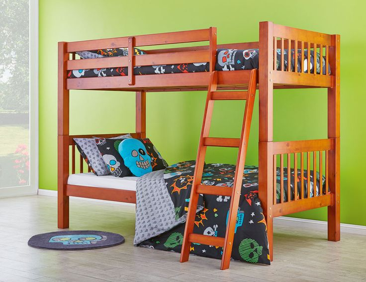The Eclipse Bunk Bed will look neat and sweet in any child's bedroom, providing the perfect sleeping solution for your little ones.
