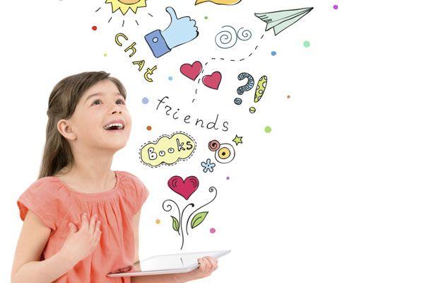 Tips voor ouders en leekrachten over het omgaan met commerciële educatieve apps voor kinderen
