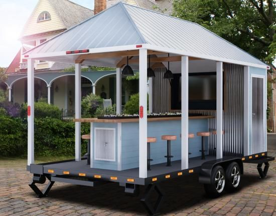 Towable Tailgating Trailer For Rent Company Tailgating