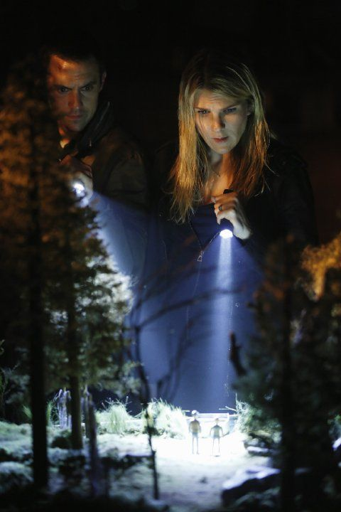 The Whispers (TV Series 2015– ) Still of Milo Ventimiglia and Lily Rabe in The Whispers (2015)