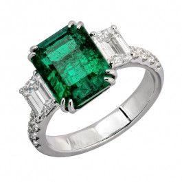 Bijuteria teilor: Inel smarald