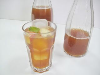 Maryam's Culinary Wonders: 821. Peach Ice Tea