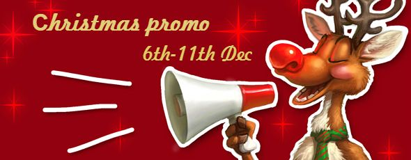 Few days left to Christmas holidays! That is why Casino  Luck has the awesome Christmas Promo for their fans and every player in the world!Are you intrigued? The whole week ( from 6th to 11th December) of presents and great money prizes: 6th – deposit $/€/£40 and get 100 Free Spins at Merry Xmas slot etc.. Click http://imoneyslots.com/play-casino-luck-flash-no-download-games.html to get your winnings!