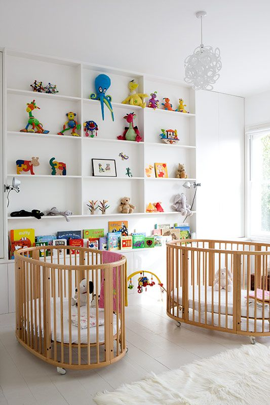 Nursery, twin nursery, crib, cot #petitpehrdreamnursery @pehrdesigns
