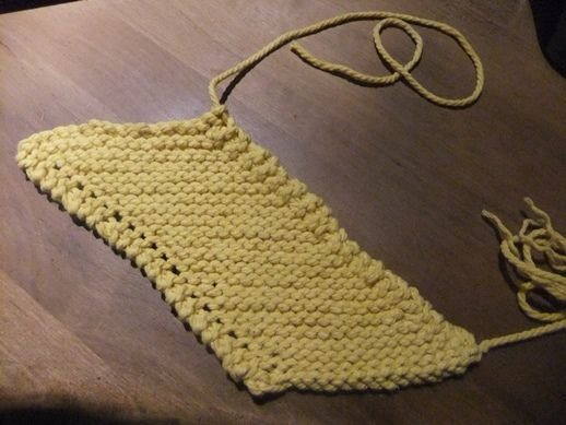 un tawashi au tricot tricot and crochet. Black Bedroom Furniture Sets. Home Design Ideas