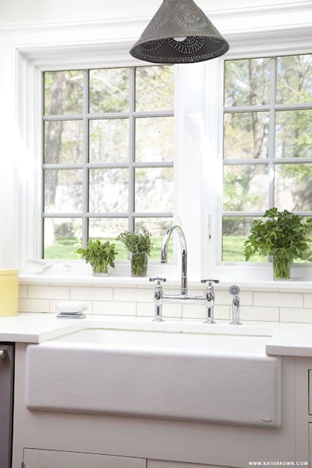 Kitchen Sink...and my all white kitchen!