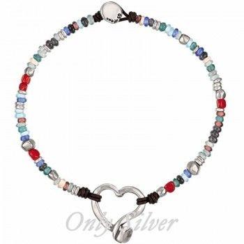 Corazones para tu cuello con este precioso collar de 'Uno de 50'! http://www.onlysilver.es/joyas-uno-de-50/1148-collar-uno-de-50-conrazon-col0784.html#.U4Wz6XJ_uVM