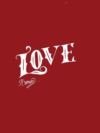 Digital Sketch lettering LOVE!!