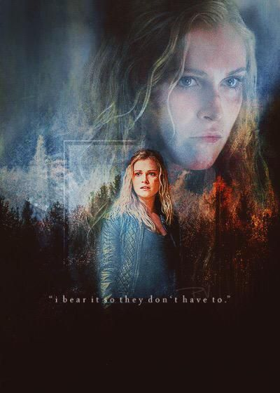 Eliza Taylor as Clarke Griffin • The 100