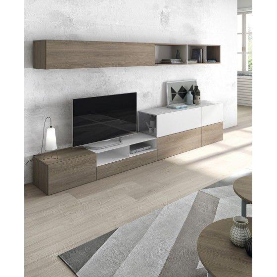 25 best ideas about meuble tv mural on pinterest meuble for Meuble tv zeus