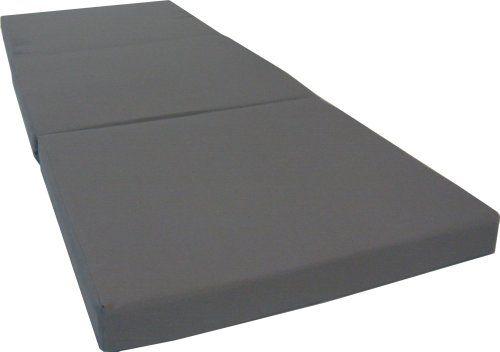 "Brand New Gray Shikibuton Trifold Foam Beds 3"" Thick X 27"" Wide X 75"" Long, 1.8 lbs high density resilient white foam, Floor Foam Folding Mats. D&D Futon Furniture,http://www.amazon.com/dp/B004O7119E/ref=cm_sw_r_pi_dp_7qoEtb1BXFX08S45"