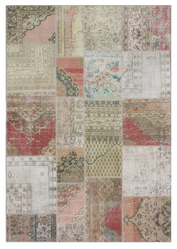 Natural and Rose Turkish rug