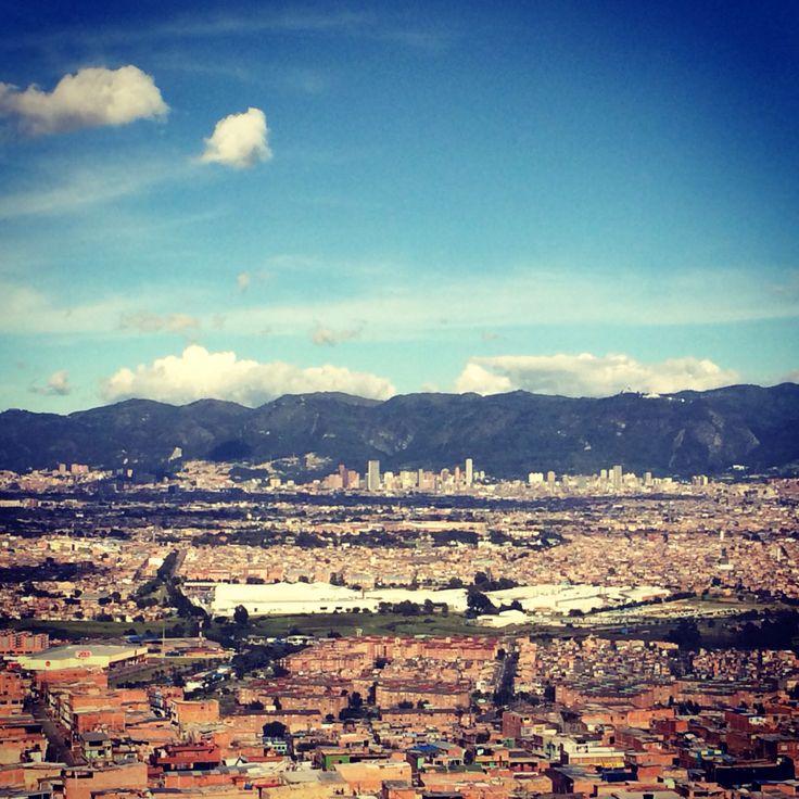 Bogotá desde Ciudad Bolívar