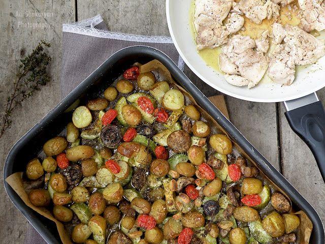 Вкуснотека: Печени зеленчуци по Италиански
