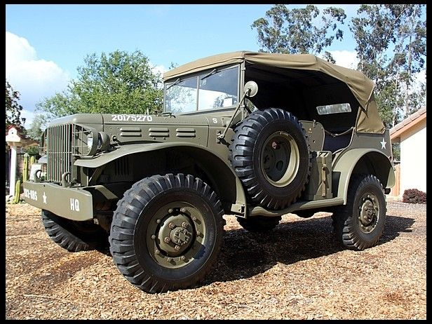 1942 Dodge Command Car W56 3/4 Ton World War II Vehicle for sale by Mecum Auction | ANYTHING ...