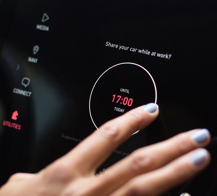 Lynk Co Concept 2016 Central Display UI/UX Design