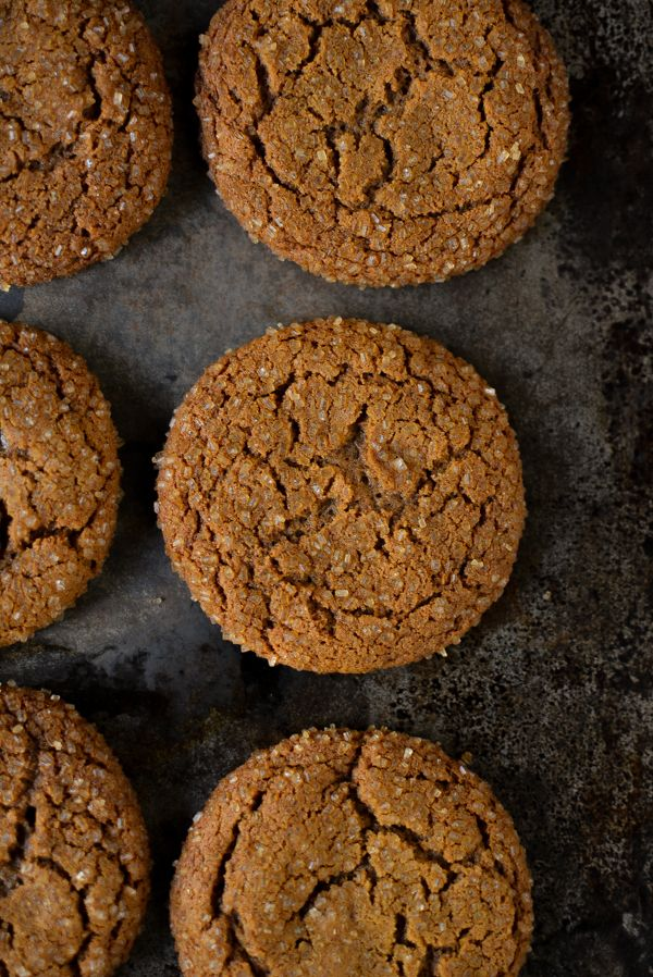 Chewy Ginger Molasses Cookies  http://www.sprinkledwithjules.com/home/2016/12/1/chewy-ginger-molasses-cookies