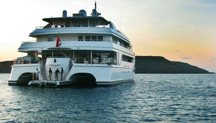 trimaran white rabbit Yacht, Sport fishing boats
