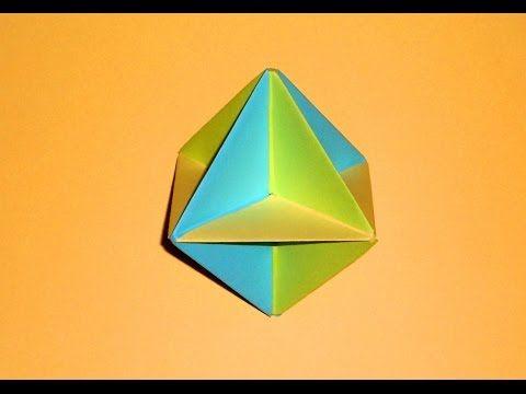 Оригами шар игрушка из бумаги Простые поделки для детей   Страна Мастеров