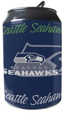 NFL Seattle Seahawks 11-Liter Portable Party Can Fridge