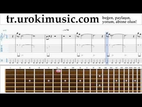 Gitar dersleri Mission Impossible - Theme Notalar Eğitim Bölüm#2 um-i723 https://www.youtube.com/watch?v=UgTTGPVbjOM