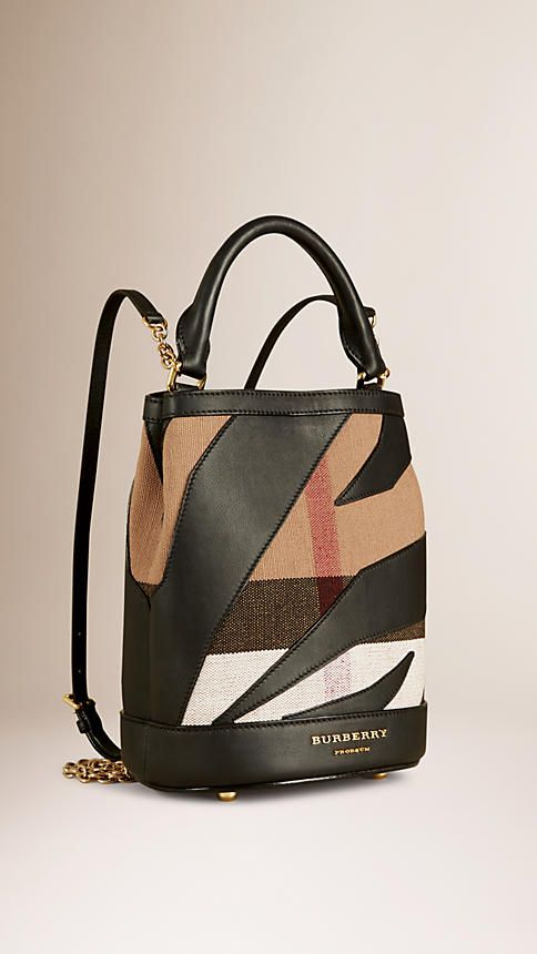 Nothing budget about this backpack: Burberry Classic check