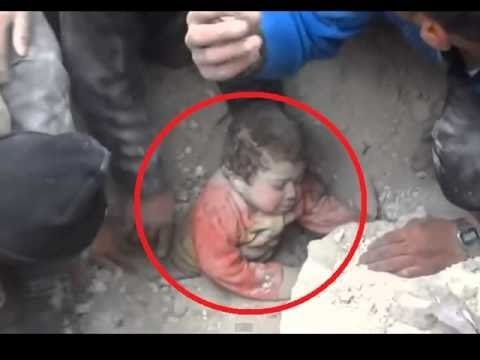 Miracles Of Allah. Baby was taken Alive from under the ground....