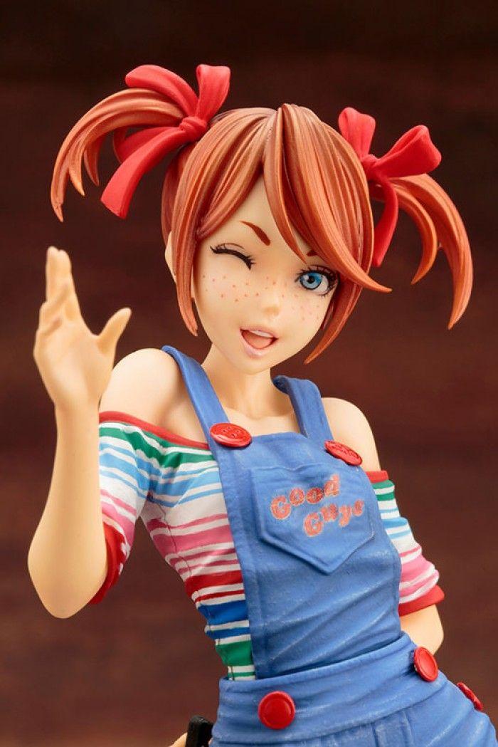 L'horrible visage de Tiffany La Fiancée De Chucky !