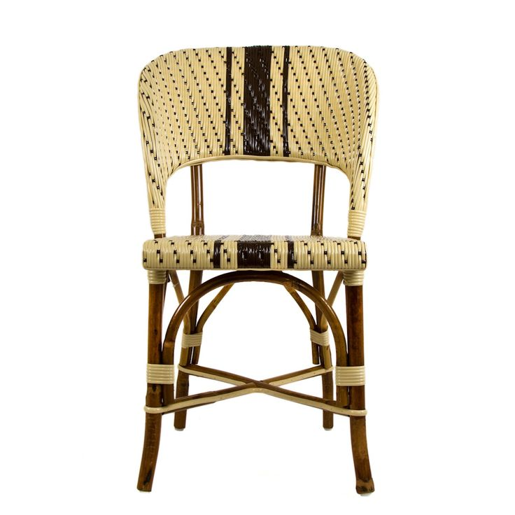 These Rattan Framed Dining Chairs With Wrap Backs Are Part