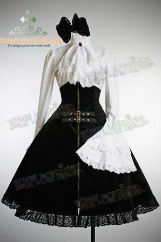 Beautiful Victorian Gothic dress