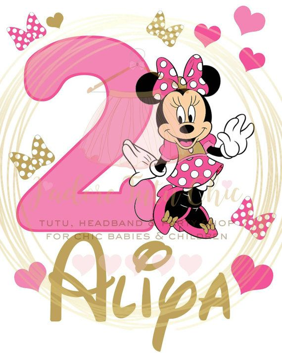 Minnie mouse birthday shirt - minnie mouse birthday outfit - minnie mouse birthday theme - pink and gold Minnie mouse birthday shirt
