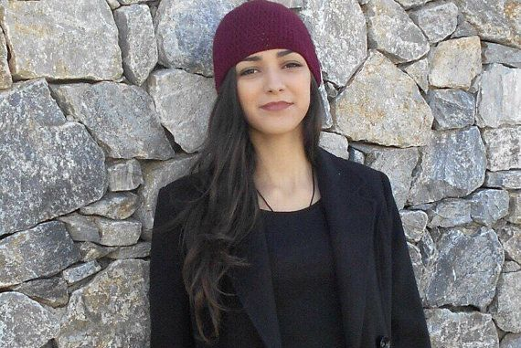 Womens Cashmere Hat  pure cashmere by LAlabastroCreazioni on Etsy