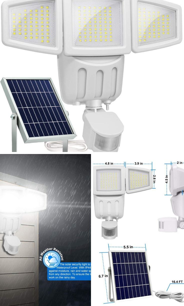 Brighter & Wider <b>Solar Led</b> Lights,great for your garage with high ...