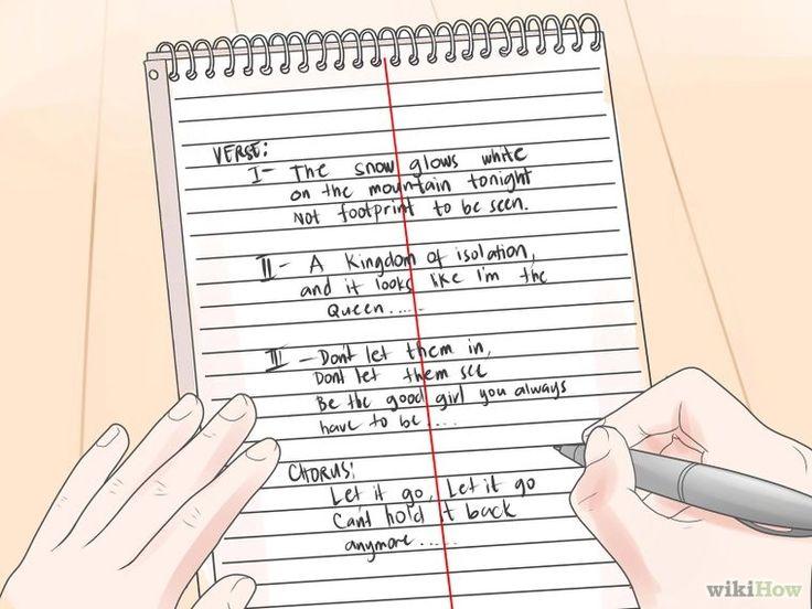 Write Song Lyrics Writing lyrics, Music writing, Rap songs