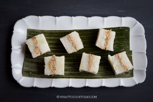 Easy Lemper Ayam Sticky Rice With Chicken Floss