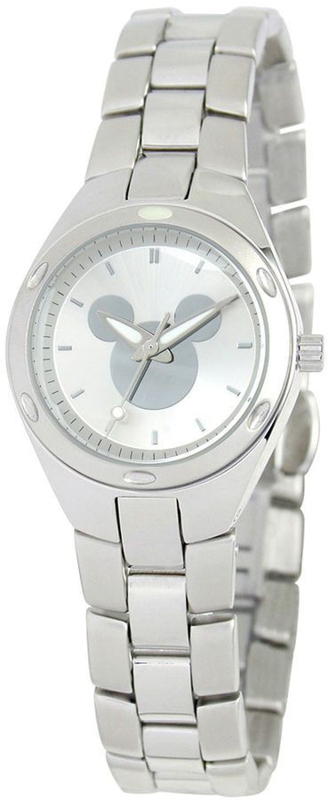 DISNEY Disney Mickey Mouse Womens Stainless Steel Watch