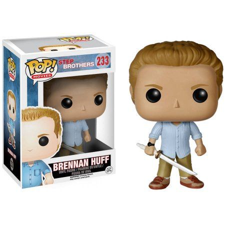 Funko POP Movies 6149 POP Movies: Step Brothers, Brennan Huff, Assorted