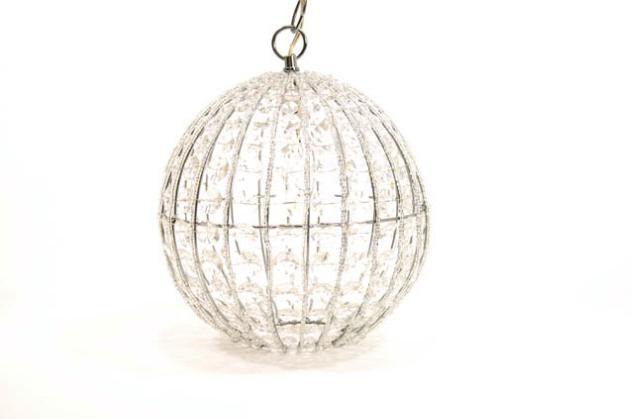 $102.99   Large Crystal Orb Pendant Light Chandelier
