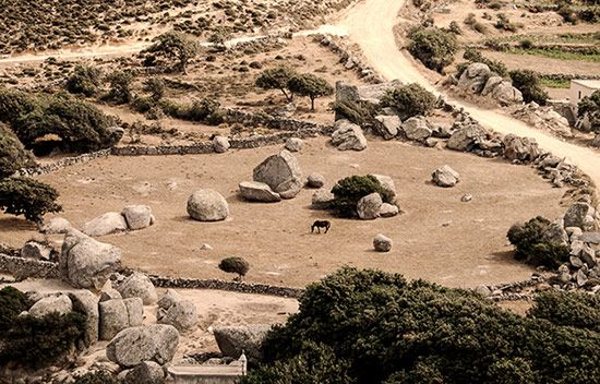 Volax village, Tinos, Cyclades, Greece  The lunar landscape that surrounds Volax captivates the imagination of the photographers and puzzles the scientists...  photo by Stefanos Samios Tinos photography workshop 23-30 August 2014