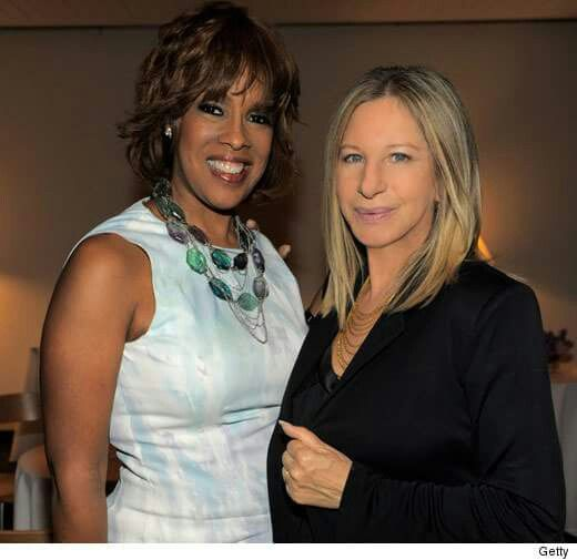 Streisand with Gayle King