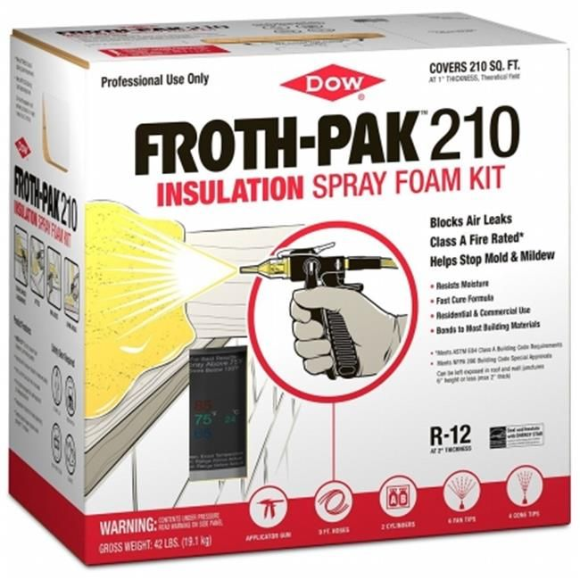 Dow Building Solutions 11098207 Froth Pak 210 Class A Spray Foam