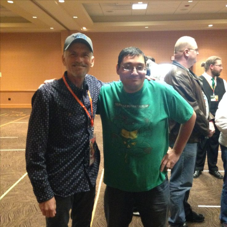 Me with Rob Paulsen at Izumicon 2017